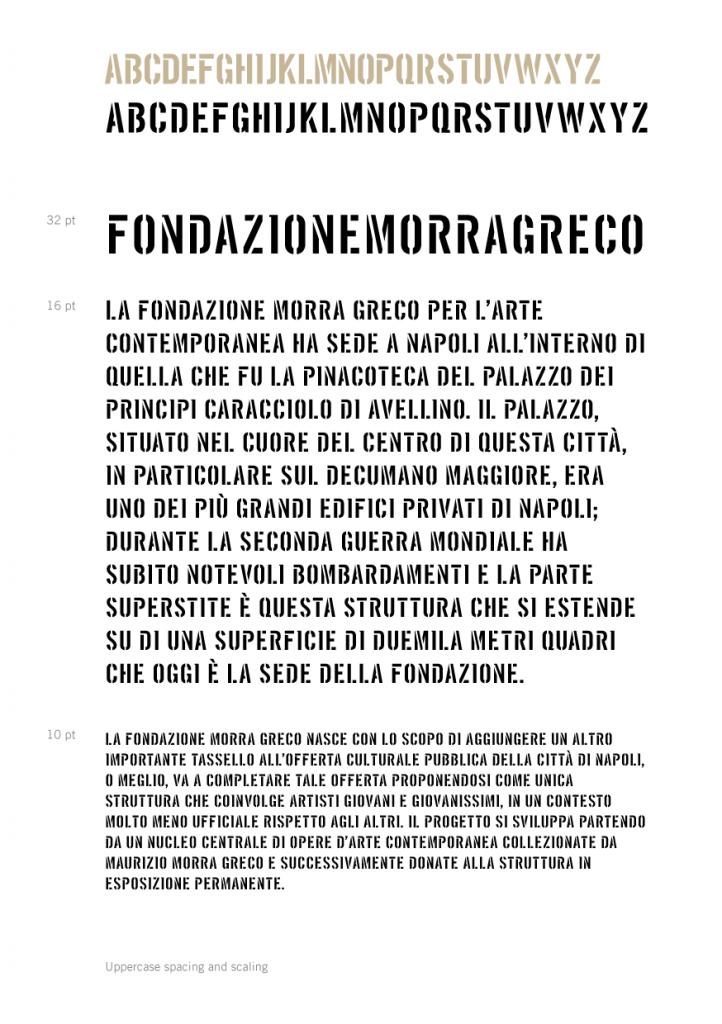 Fondazione Stencil Bold » Dopolavoro